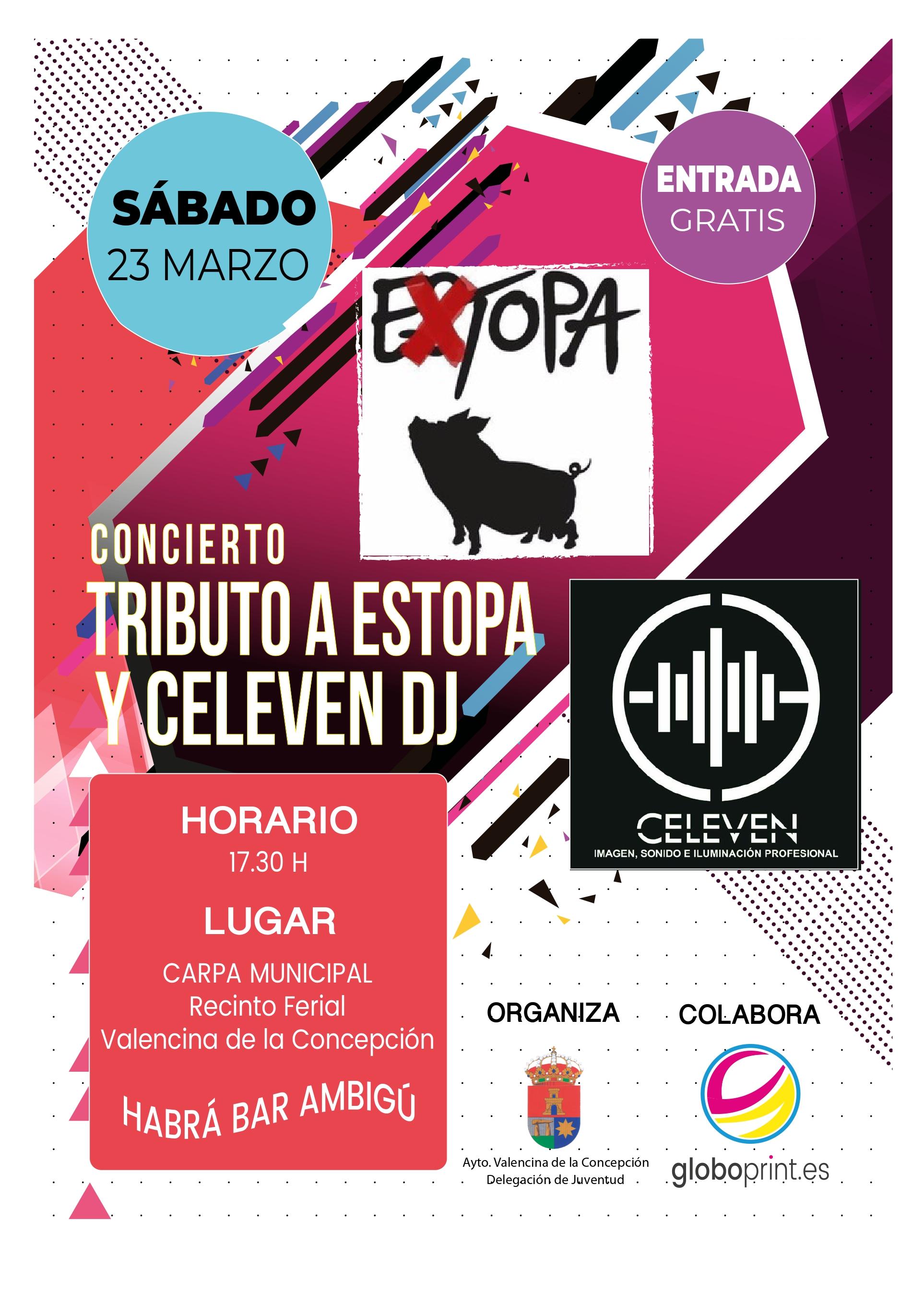 Vídeo en directo de Extopa tributo a Estopa en Valencina de la Concepción 2.019