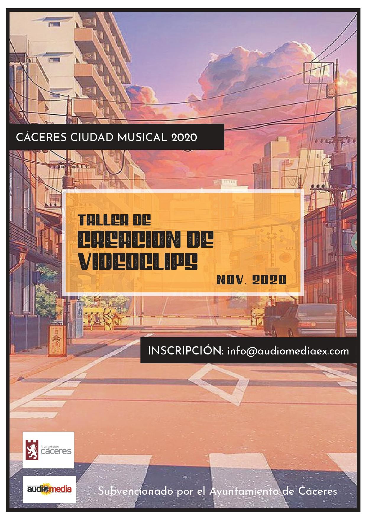 Se pone en marcha el proyecto Cáceres ciudad musical 2020