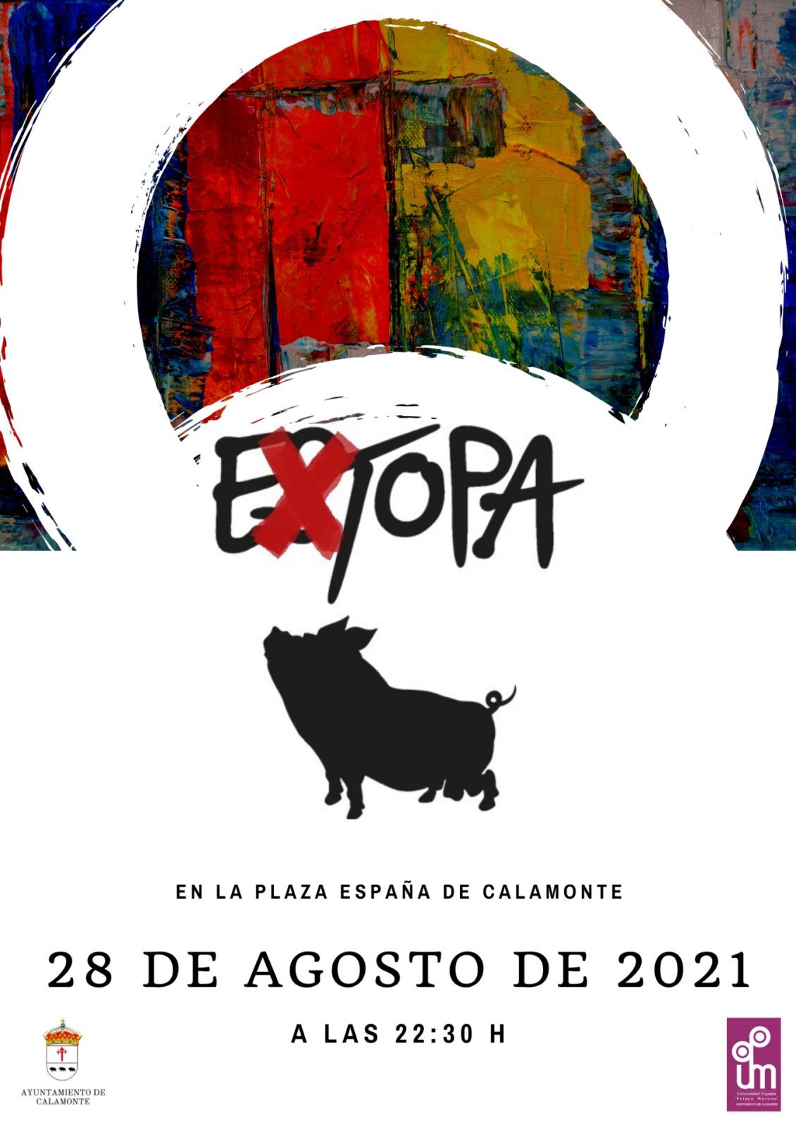 Extopa tributo a Extopa este fin de Semana en Calamonte y Aldea en Cabo