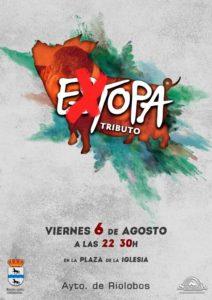 Extopa tributo a Estopa en Riolobos