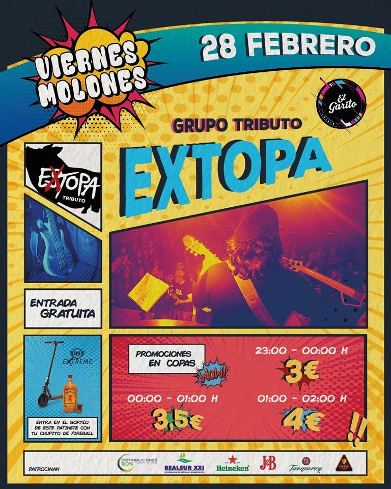 Extopa tributo a Estopa Palacios y Villafranca
