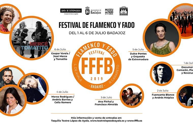 Festival Flamenco y fado Badajoz 2019 Alquiler de backline