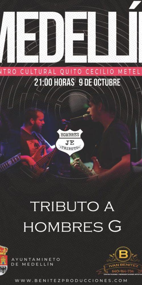Hombres Je tributo a Hombres G en Medellín