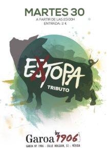 Extopa tributo a Estopa Pub Garoa Mérida