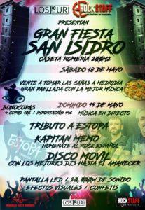 Extopa tributo a Estopa San Isidro