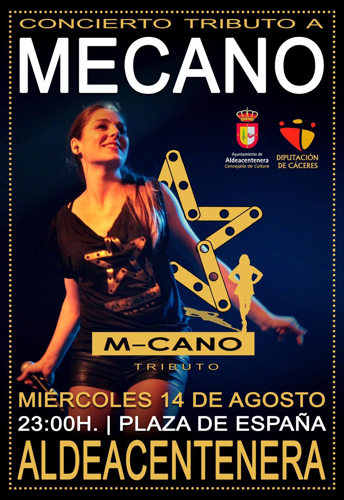 M-cano tributo a Mecano en Aldeacentenera