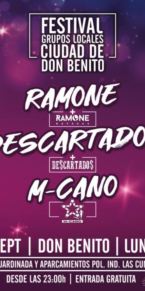 M-cano tributo a Mecano Don benito