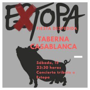 Extopa tributo a Estopa en Trujillo y Oliva de la Frontera el mismo día