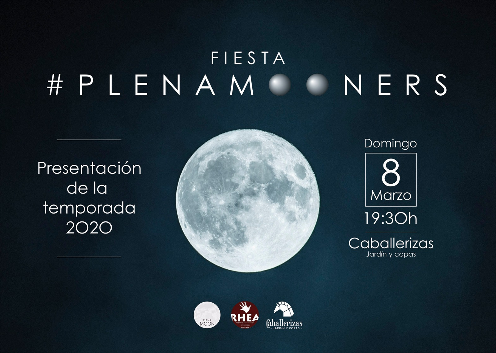 Plena Moon Caballerizas Cáceres