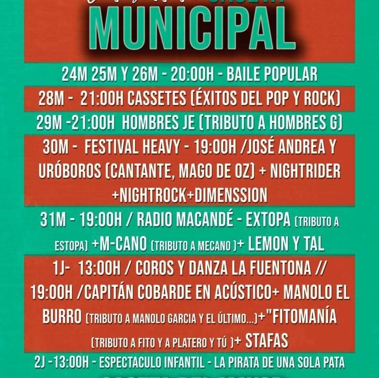 Ferias de Cáceres 2.019 con Audiomedia Producciones