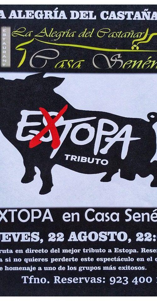 Extopa tributo a Estopa Bejar