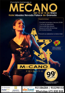 m-cano tributo a Mecano granada